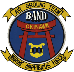 Third Marine Amphibious Force Band emblem